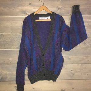 Vintage sweater cardigan